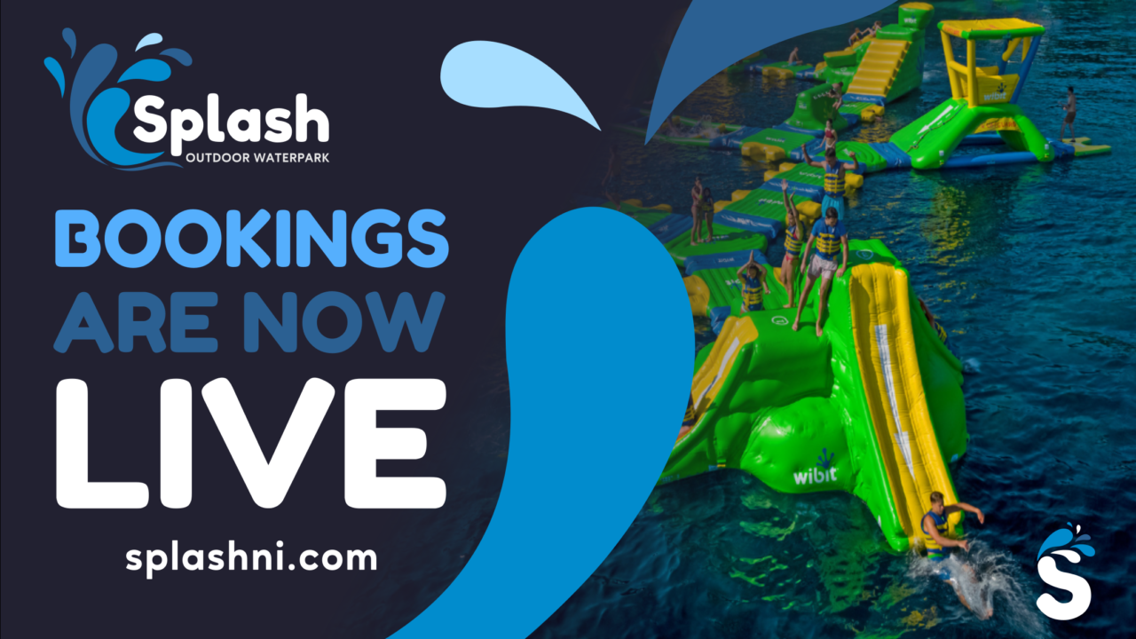 Splash Bookings Now Live FB post image with photo